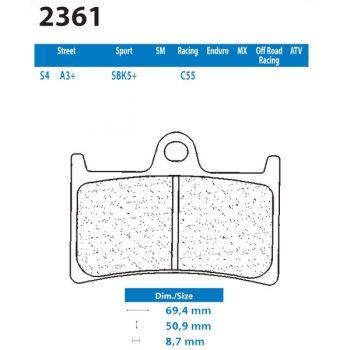 CL Brakes 2361S4