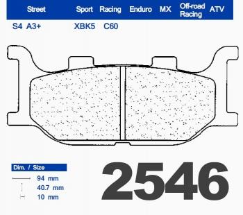 CL Brakes 2546 S4
