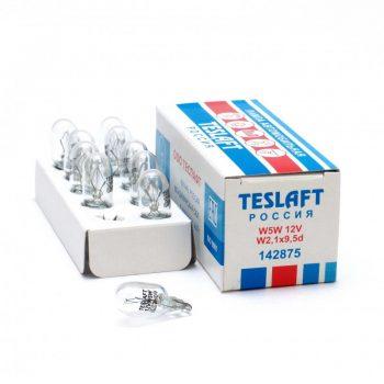 Лампа 12V W5W 5W Teslaft