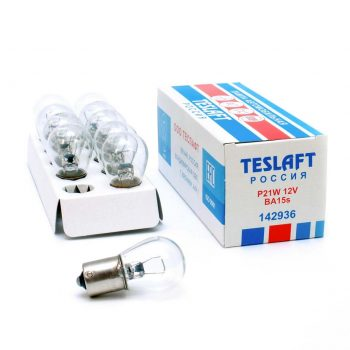 Лампа 12V P21W 21W Teslaft