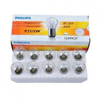 Лампа 12V P21/5W PHILIPS
