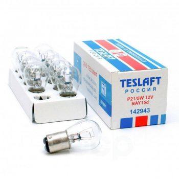 Лампа 12V P21/5W Teslaft