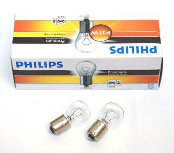Лампа 12V P21W 21W PHILIPS